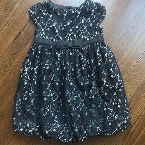 Gap black lace dress